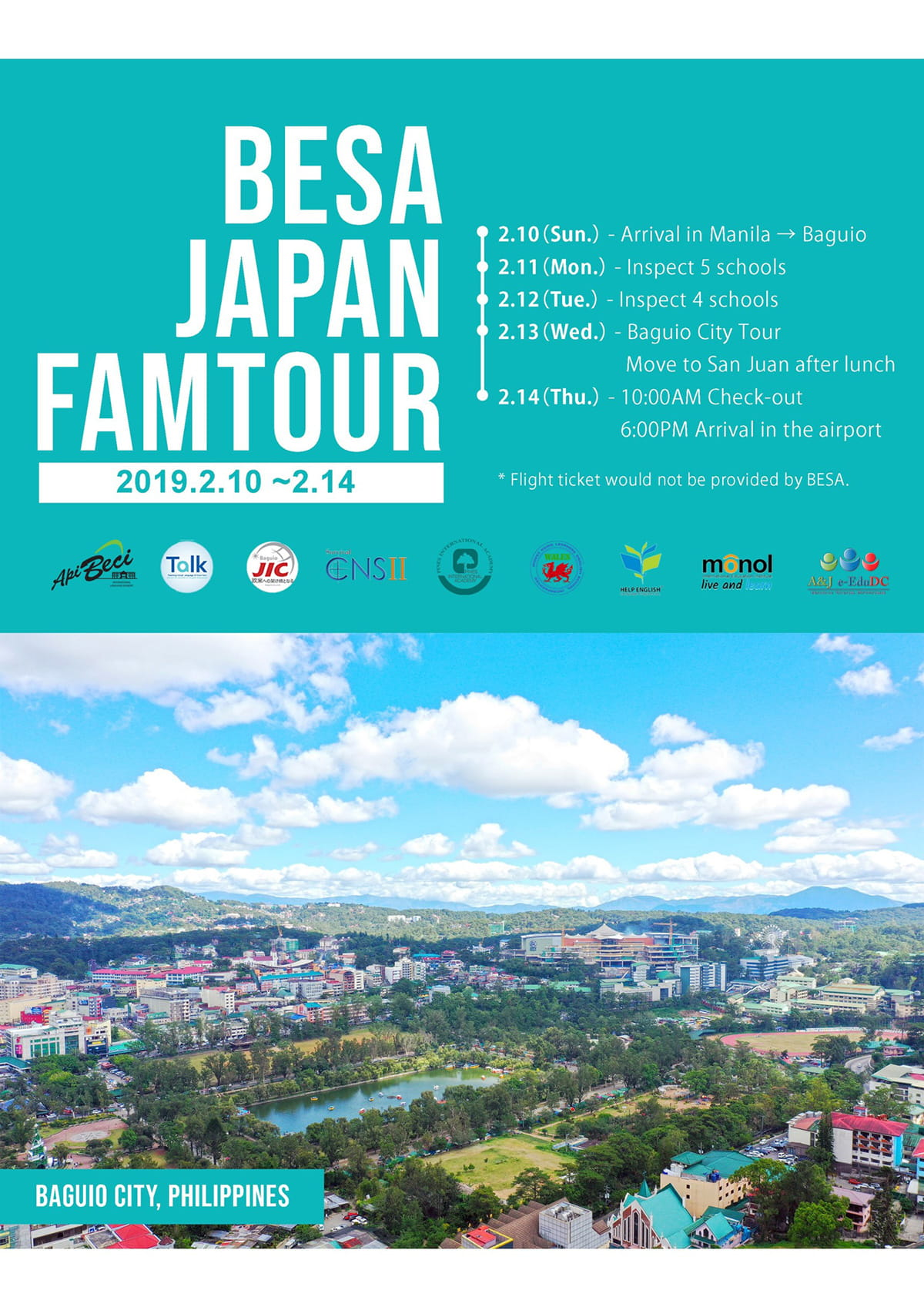 BESA JAPAN FAMTOUR 2019